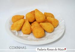 10. coxinhas