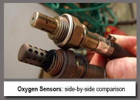 Old New Oxygen Sensor Compare