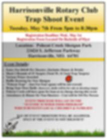 Harrisonville Rotary Trap Shoot Flyer_Pa