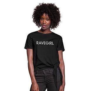 RAVEGIRL Knotenshirt
