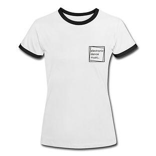 Kontrast-T-Shirt