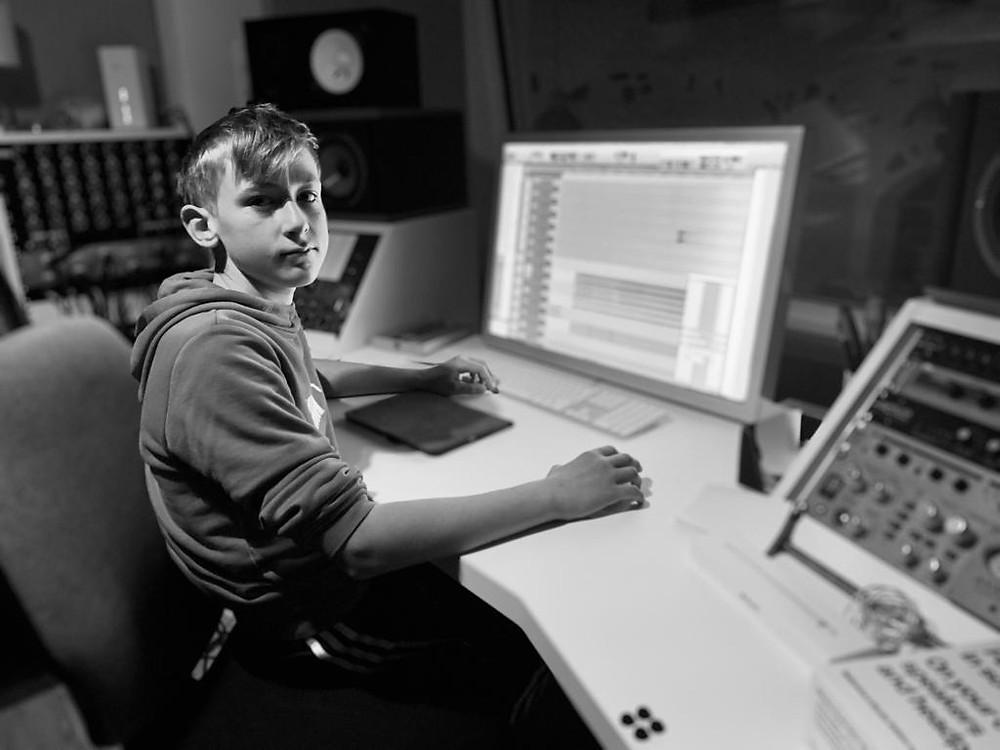 Joscy im Studio