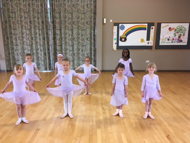 Ballerinas in Bracknell