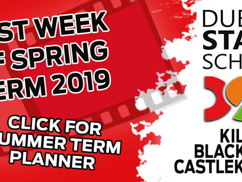 Last week of Spring Term 2019! Happy Easter!