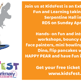 DSS at KidsFest this Sunday April 7th!