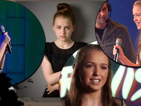 WATCH BACK! Our student Ella in the Junior Eurovision televised heats!