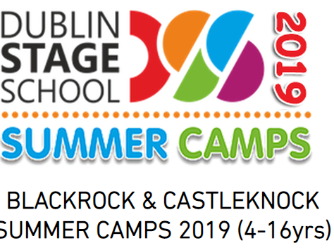 Dublin Stage School Summer Camps 2019