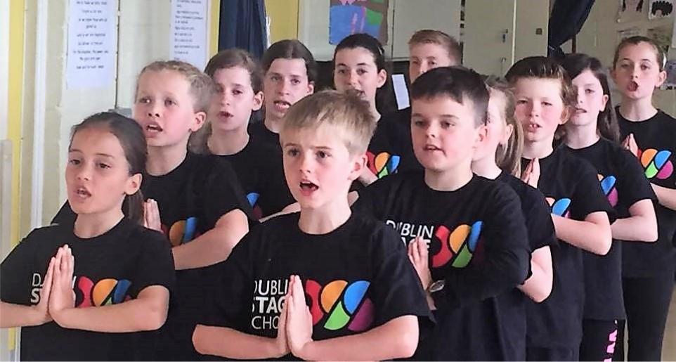 Dublin Stage School Evita Choir Red Team