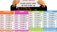 Autumn Term Dates