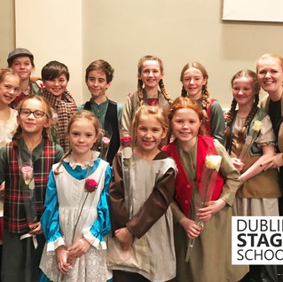 """Throw Back Thursday to the amazing experience Dublin Stage School had in """"Oliver"""" at Natio"""