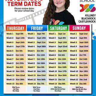 AUTUMN 2018 Term Dates