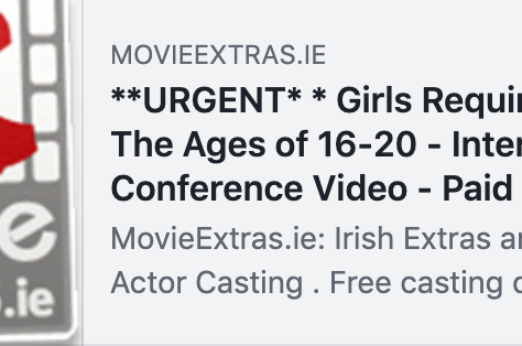 **URGENT* * Girls Required Between The Ages of 16-20 - International Conference Video - Paid Role!