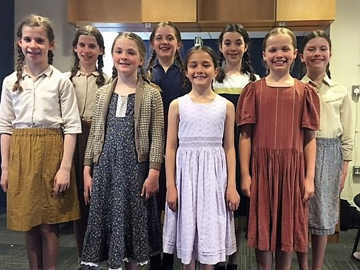 Evita Girls Dublin Stage School Bord Gais Theatre