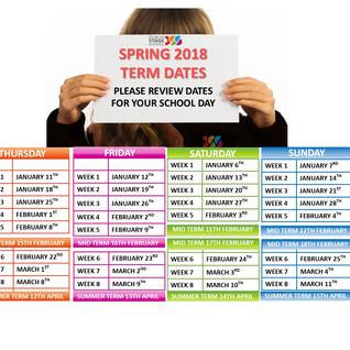 Spring Term Dates