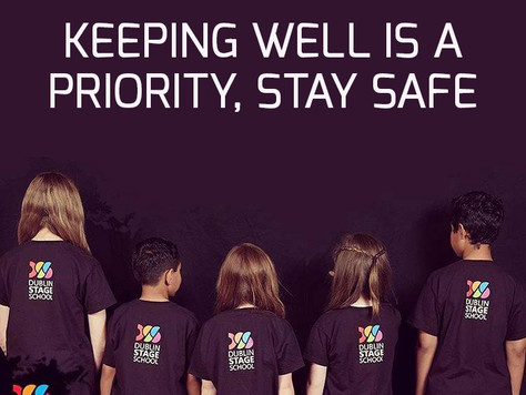 Keeping well is a priority, Stay safe