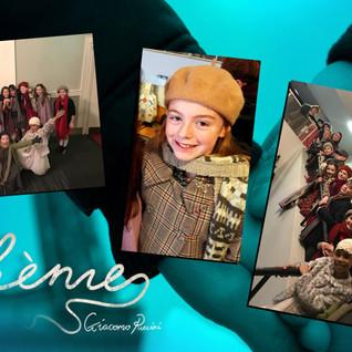 Dublin Stage School student Megan in La Boheme!