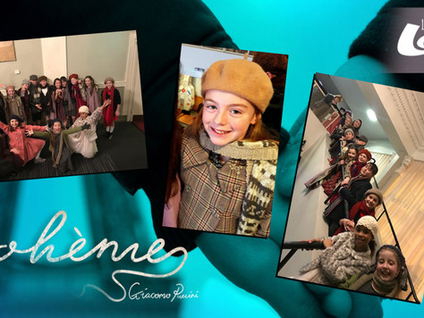 Dublin Stage School student Megan in La Boheme!