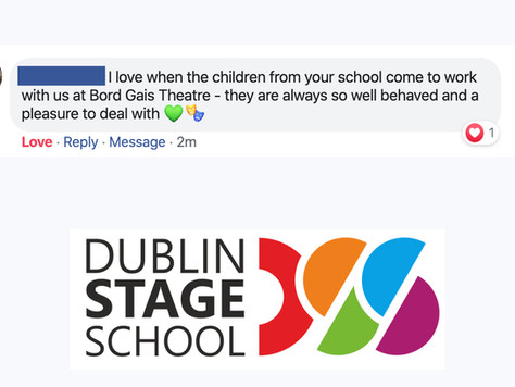 Our hearts are bursting with PRIDE after getting this fabulous message about our students here at Du