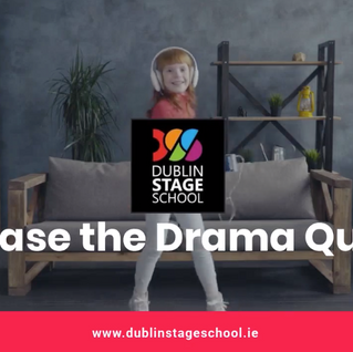 Release the Drama Queen in your house and sign them up to a class with Dublin Stage School