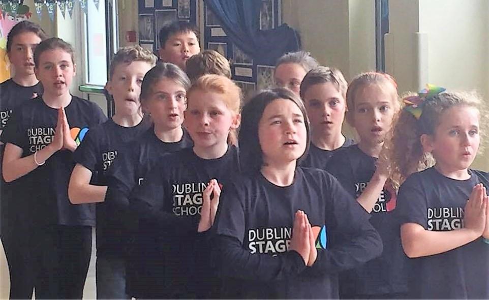 Dublin Stage School Evita Choir Blue Team