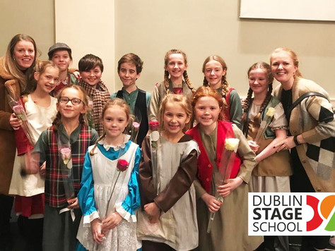 "Throw Back Thursday to the amazing experience Dublin Stage School had in ""Oliver"" at Natio"