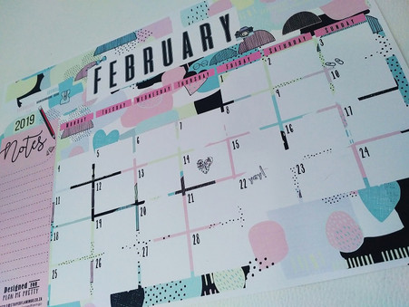 February Printable Calender