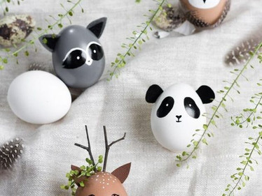 Simple and pretty Easter Decorations DIY