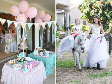 A Magical Unicorn Party for little Charlotte