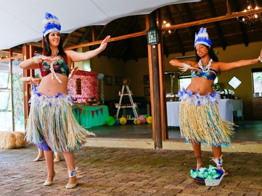 Aloha to this fun Year-End Function!