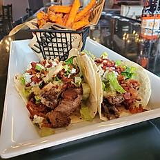 Black & Blue Sirloin Tacos