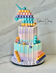 Unicorn Pop It Cake