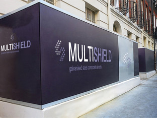 Perspex Distribution sees attraction of Multishield steel composite panels