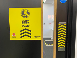 Globe Print relies on Drytac films for support with NHS vaccination roll out