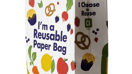 The reusable paper bag, a better choice for the climate