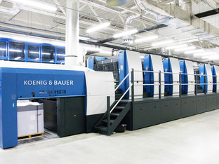 Koenig & Bauer showcases large format four over four perfecting