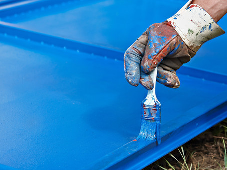 Water based coating improves worker environment and lessens VOCs