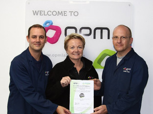 OPM Group gets Zero Labels 2 Landfill Certification