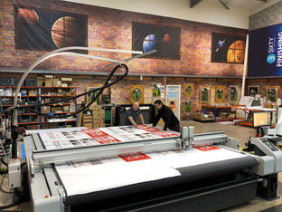 3 Sixty expands with further Zünd digital cutting system