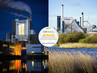Iggesund mills receive highest sustainability rating from EcoVadis