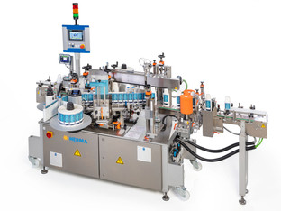New compact two side and wraparound labeling machine