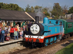 All aboard for a day out with Thomas!