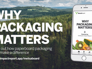 Report showcases importance of sustainable packaging in tackling food waste