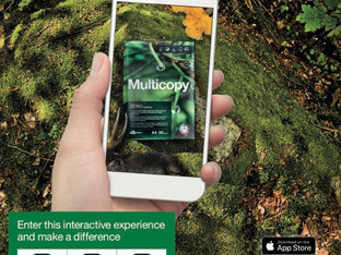 Multicopy AR tells its strong environmental story – download and scan!