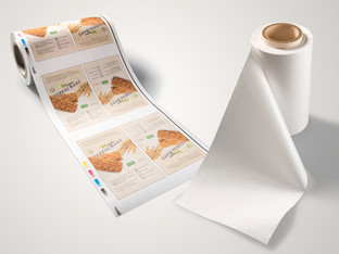 Home compostable paper laminate for flexible packaging