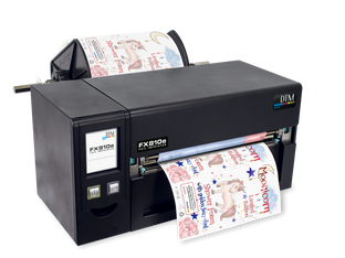 DTM Print expands its range of label printers with the DTM FX810e Foil Imprinter