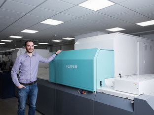 Jet Press 720S investment boosts business card production at Bluetree Group
