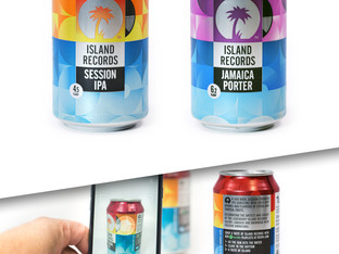 Crown's musical craft beer can for Island Records wins Best Can