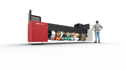 New Avinci CX3200 supports printing companies' expansion into soft signage