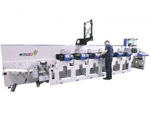 Lots to see on the Focus Labels stand at Labelexpo