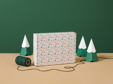 'Ready wrapped' packaging for an eco friendly Christmas